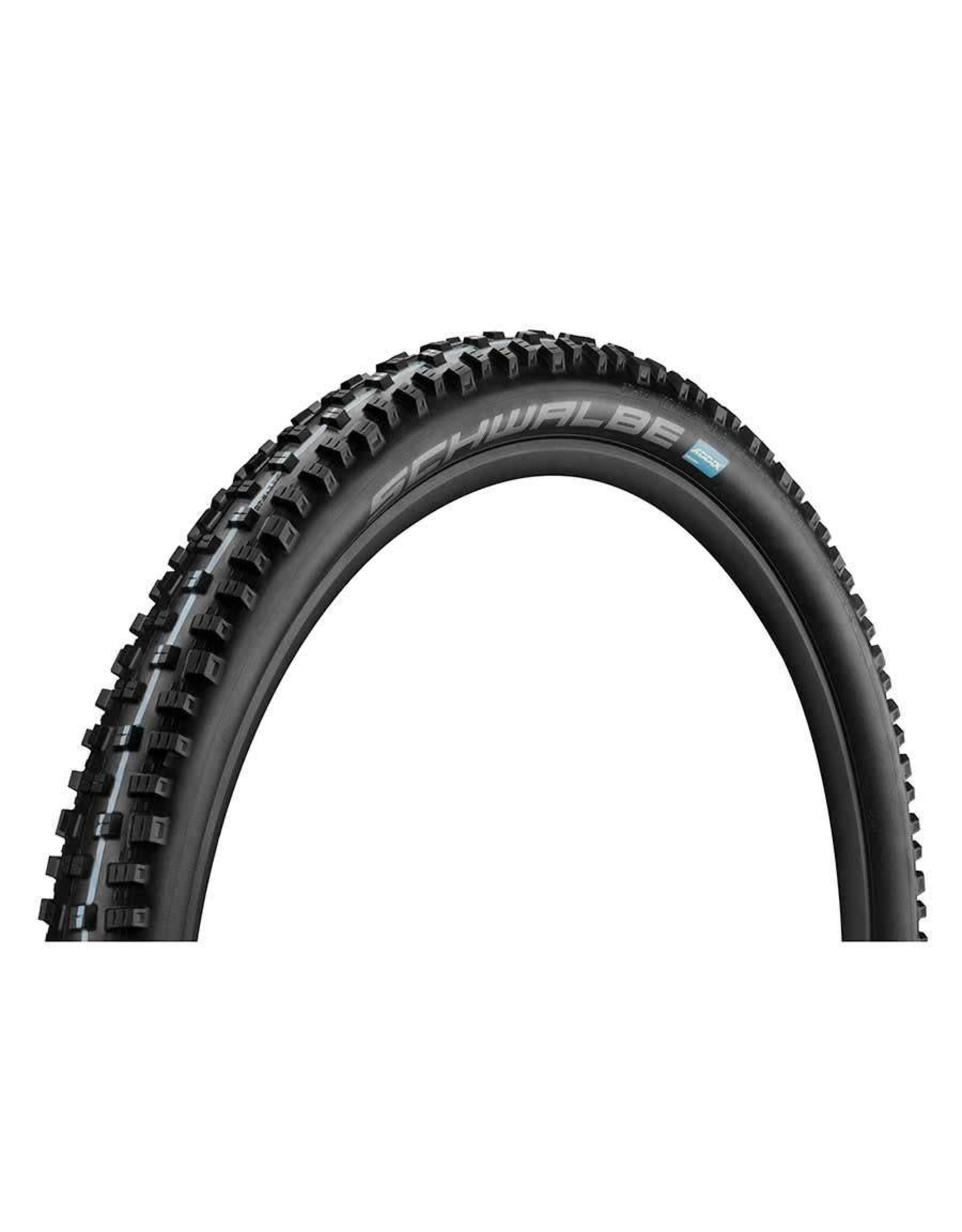 Schwalbe Schwalbe, Nobby Nic, Tire, 27.5''x2.60, Folding, Tubeless Ready, Addix Speedgrip, SnakeSkin, Apex, 67TPI, Black