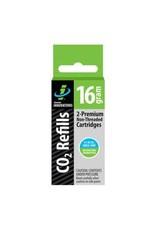 Genuine Innovations Genuine Innovations, 16g threadless CO2 Cartridges, Box of 6