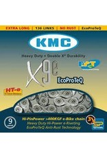 KMC KMC, X9E Turbo, Chain, 9sp., 136 links