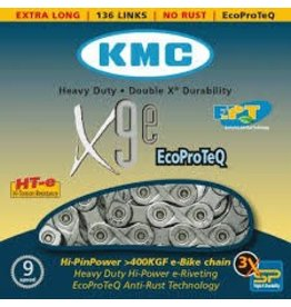 KMC X9E Turbo, Chain, 9sp., 136 links