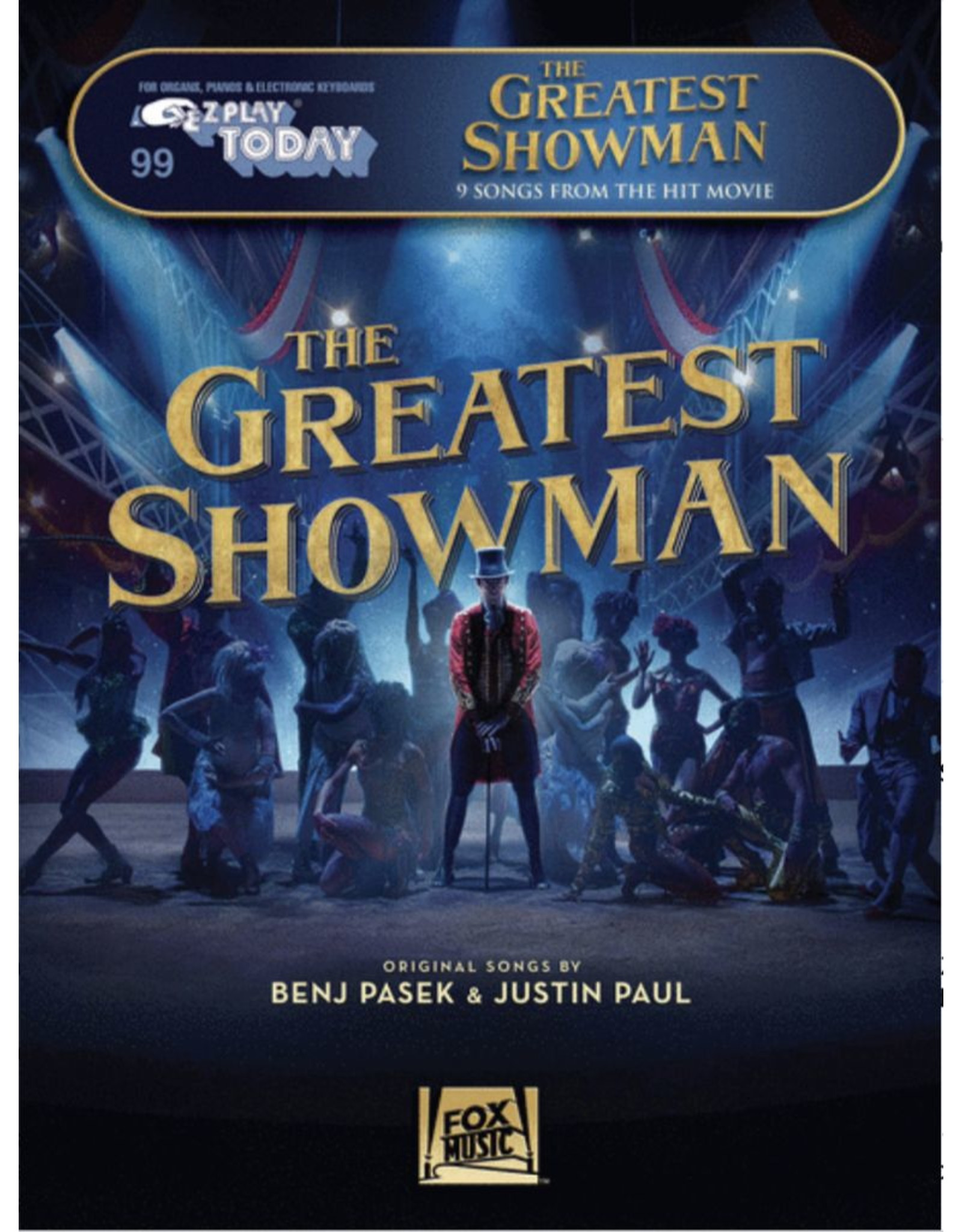 Hal Leonard Greatest Showman E-Z Play Today (FIve Finger)