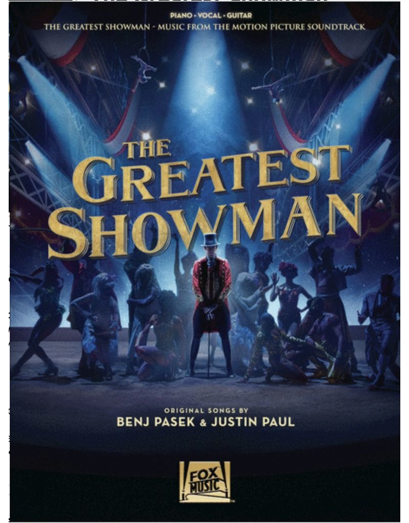Hal Leonard The Greatest Showman Vocal Score