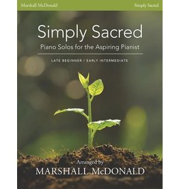 Marshall McDonald Music Simply Sacred by Marshall McDonald