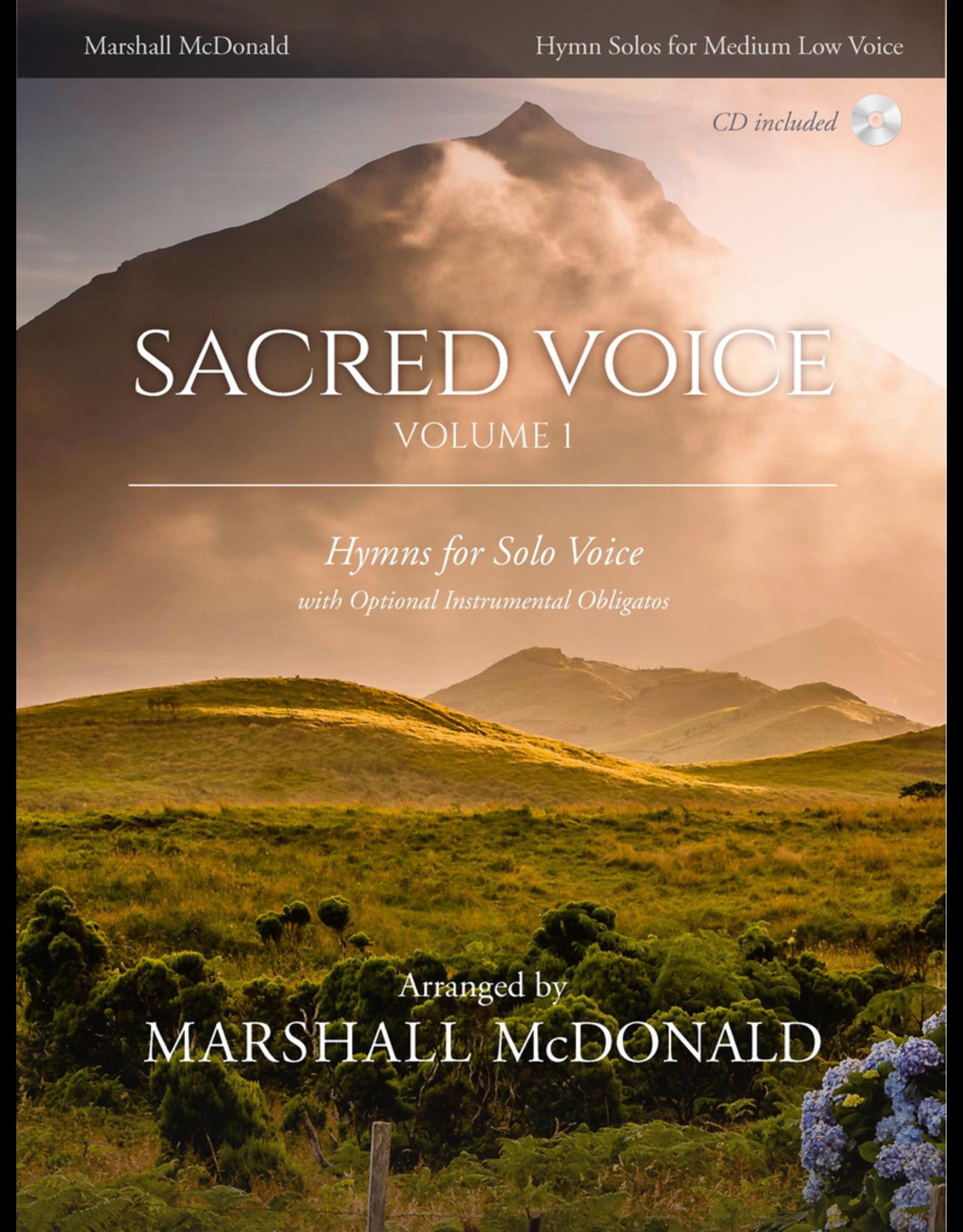 Marshall McDonald Music Sacred Voice Volume I for Medium Low Voice arr. Marshall McDonald