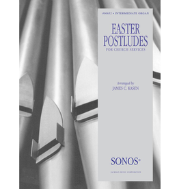 Jackman Music Easter Organ Postludes for Church Services arr. James C. Kasen