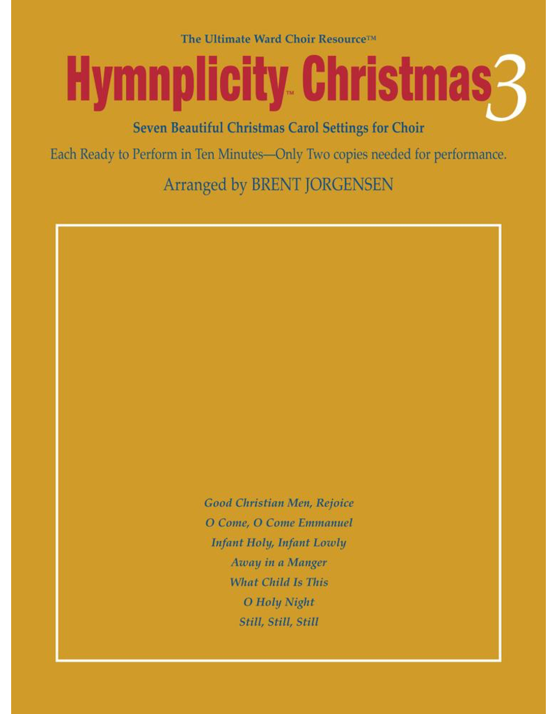 Jackman Music Hymnplicity Christmas Book 3