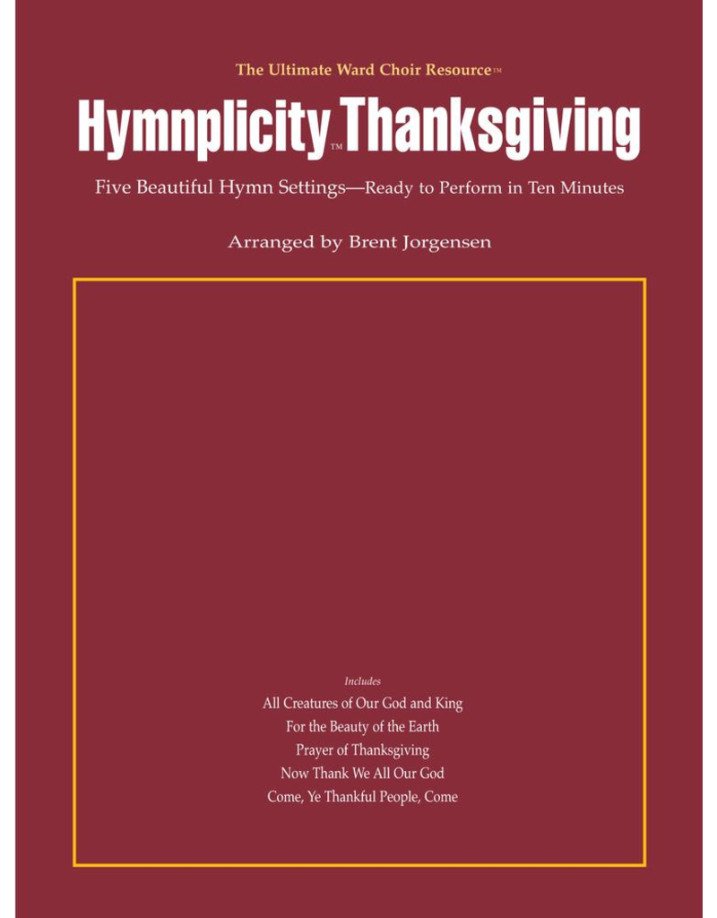 Jackman Music Hymnplicity Thanksgiving