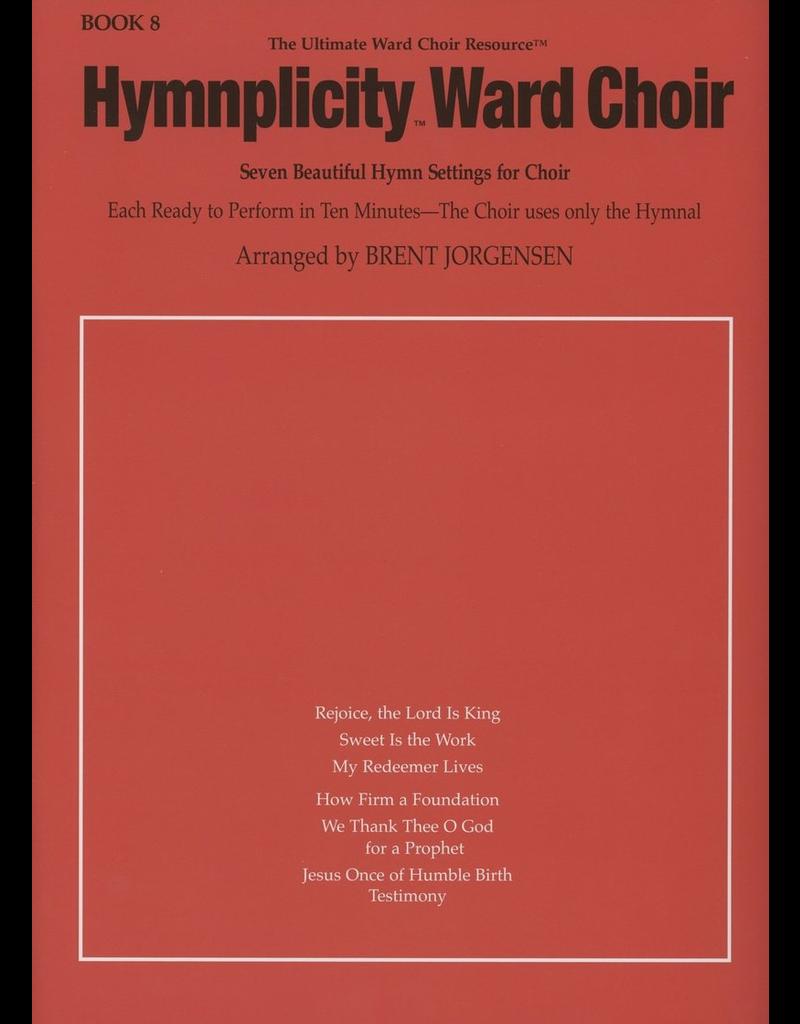 Jackman Music Hymnplicity Ward Choir Book 8