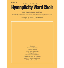 Jackman Music Hymnplicity Ward Choir Book 9