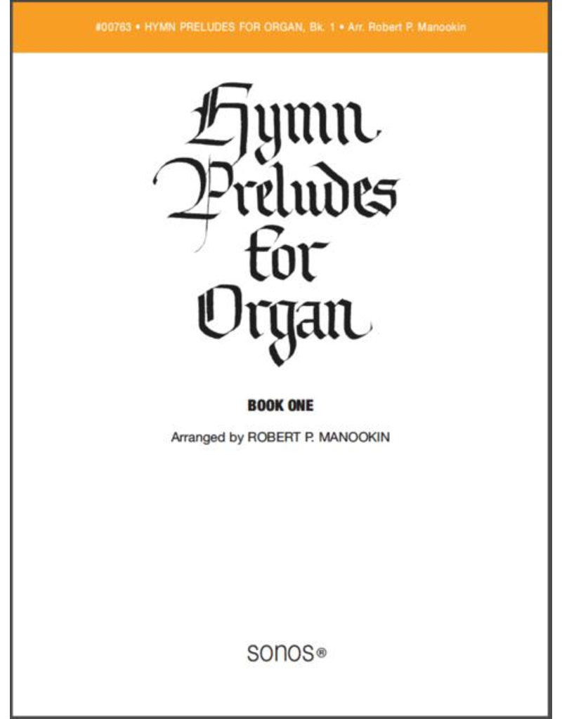Jackman Music Hymn Preludes for Organ Book 1 arr. Robert P. Manookin