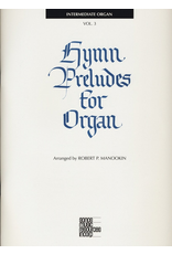 Jackman Music Hymn Preludes for Organ Book 3 arr. Robert P. Manookin