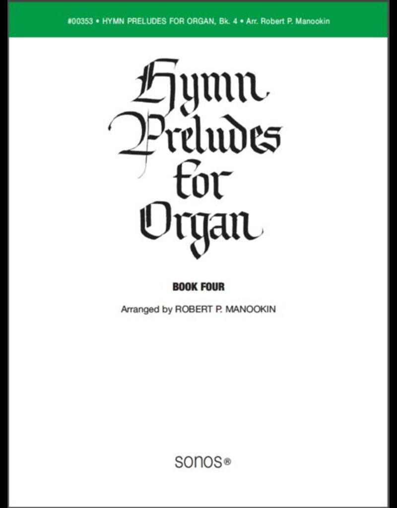 Jackman Music Hymn Preludes for Organ Book 4 arr. Robert P. Manookin