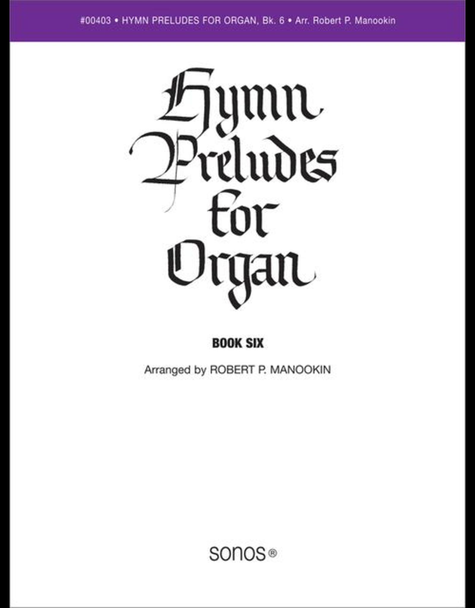 Jackman Music Hymn Preludes for Organ Book 6 arr. Robert P. Manookin