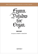 Jackman Music Hymn Preludes for Organ Book 8 arr. Robert P. Manookin