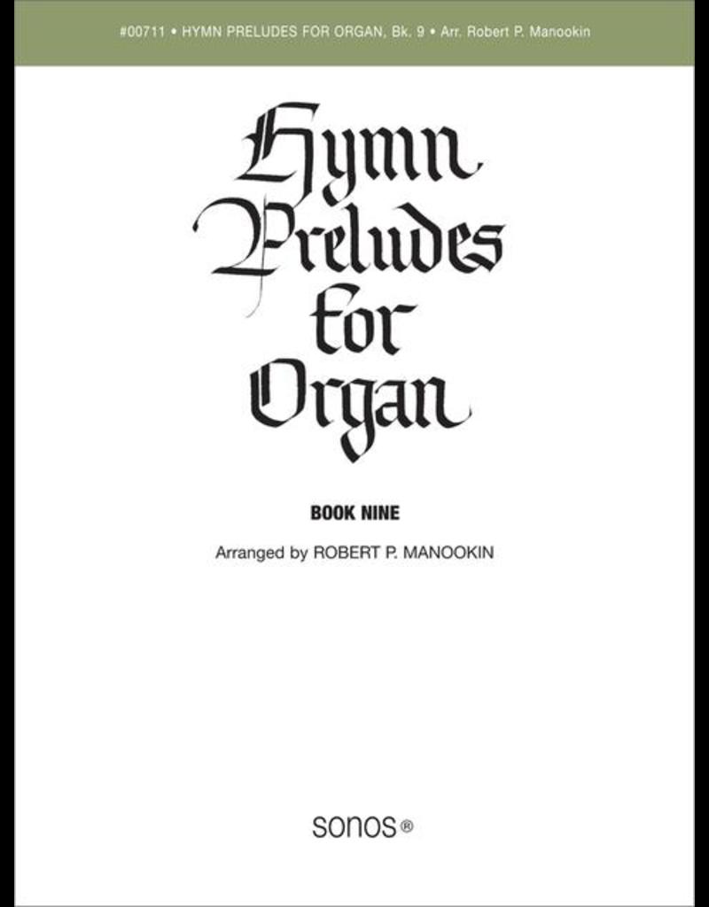 Jackman Music Hymn Preludes for Organ Book 9 arr. Robert P. Manookin