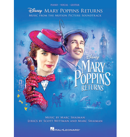 Hal Leonard Mary Poppins Returns PVG - Music from the Walt Disney Movie