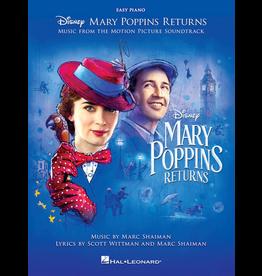 Hal Leonard Mary Poppins Returns Easy Piano
