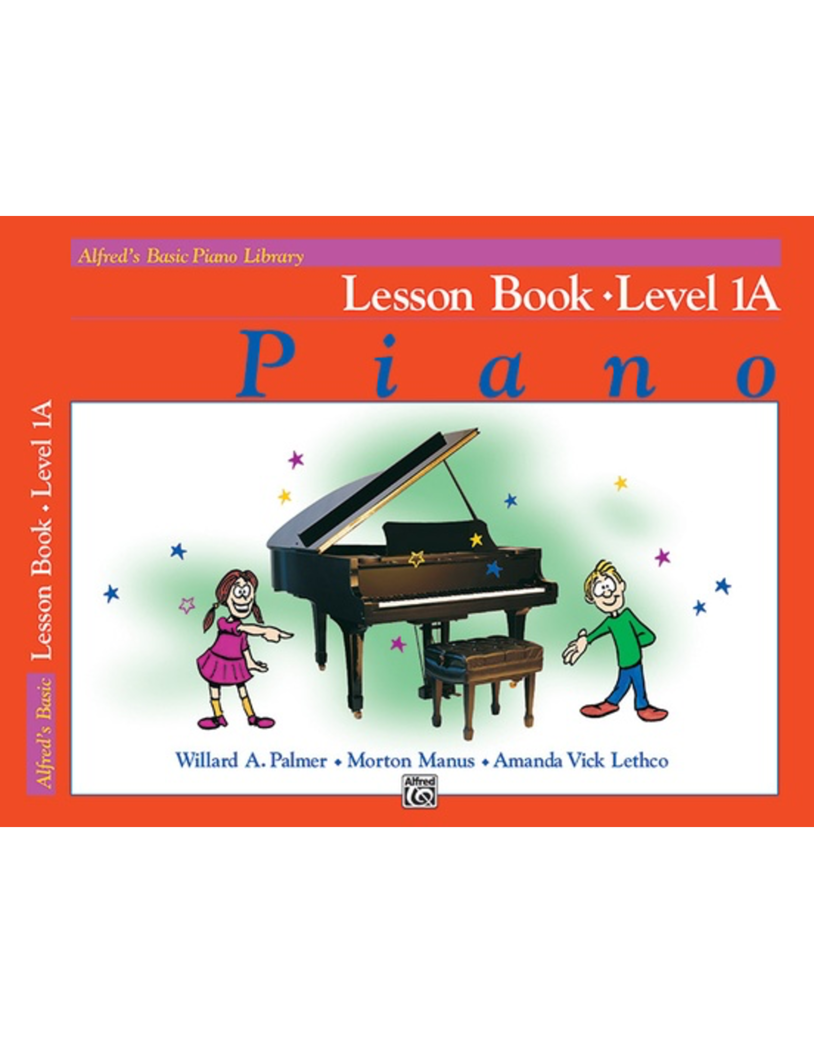 Alfred Alfred's Basic Piano Library Lesson, Level 1A
