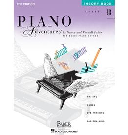 Hal Leonard Piano Adventures Theory Level 3B