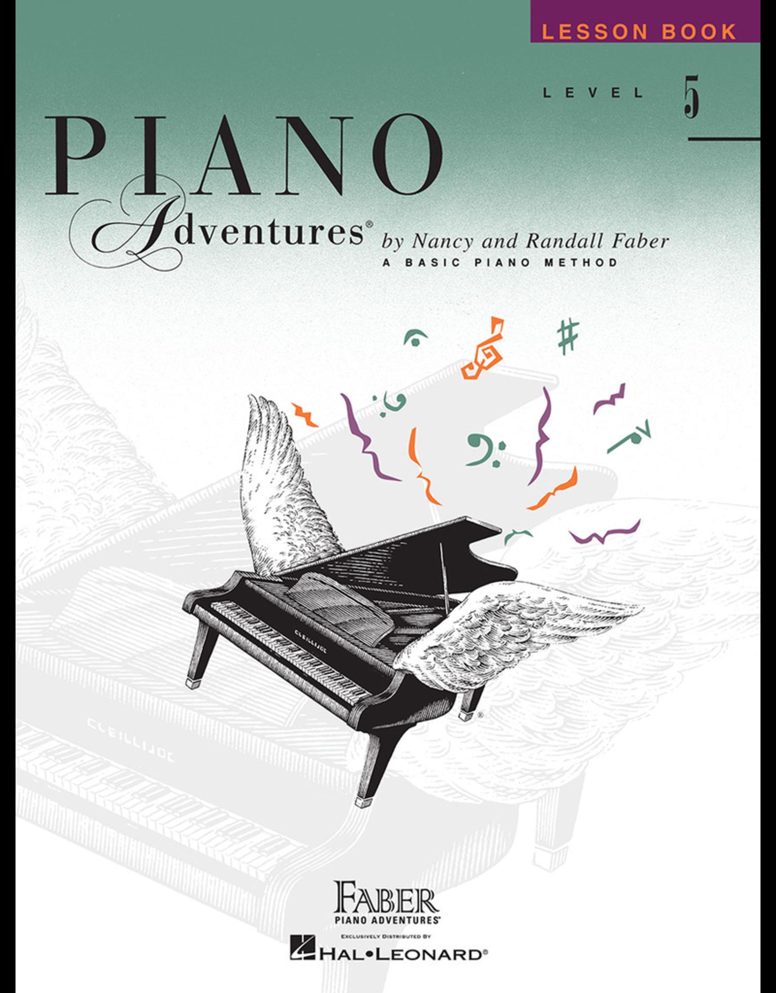 Hal Leonard Piano Adventures Lesson Level 5