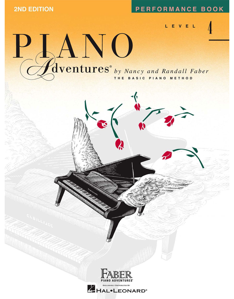 Hal Leonard Piano Adventures Performance Book Level 4