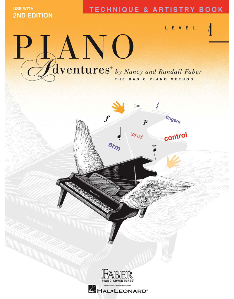 Hal Leonard Piano Adventures Technique & Artistry Level 4