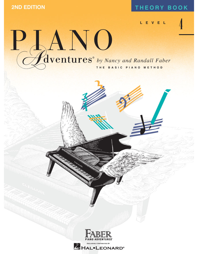 Hal Leonard Piano Adventures Theory Level 4