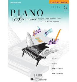 Hal Leonard Piano Adventures Theory level 3A