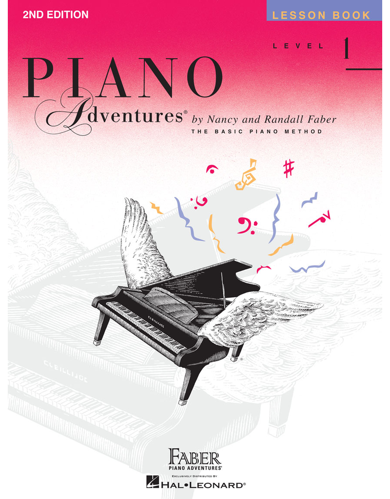 Hal Leonard Piano Adventures Lesson, Level 1