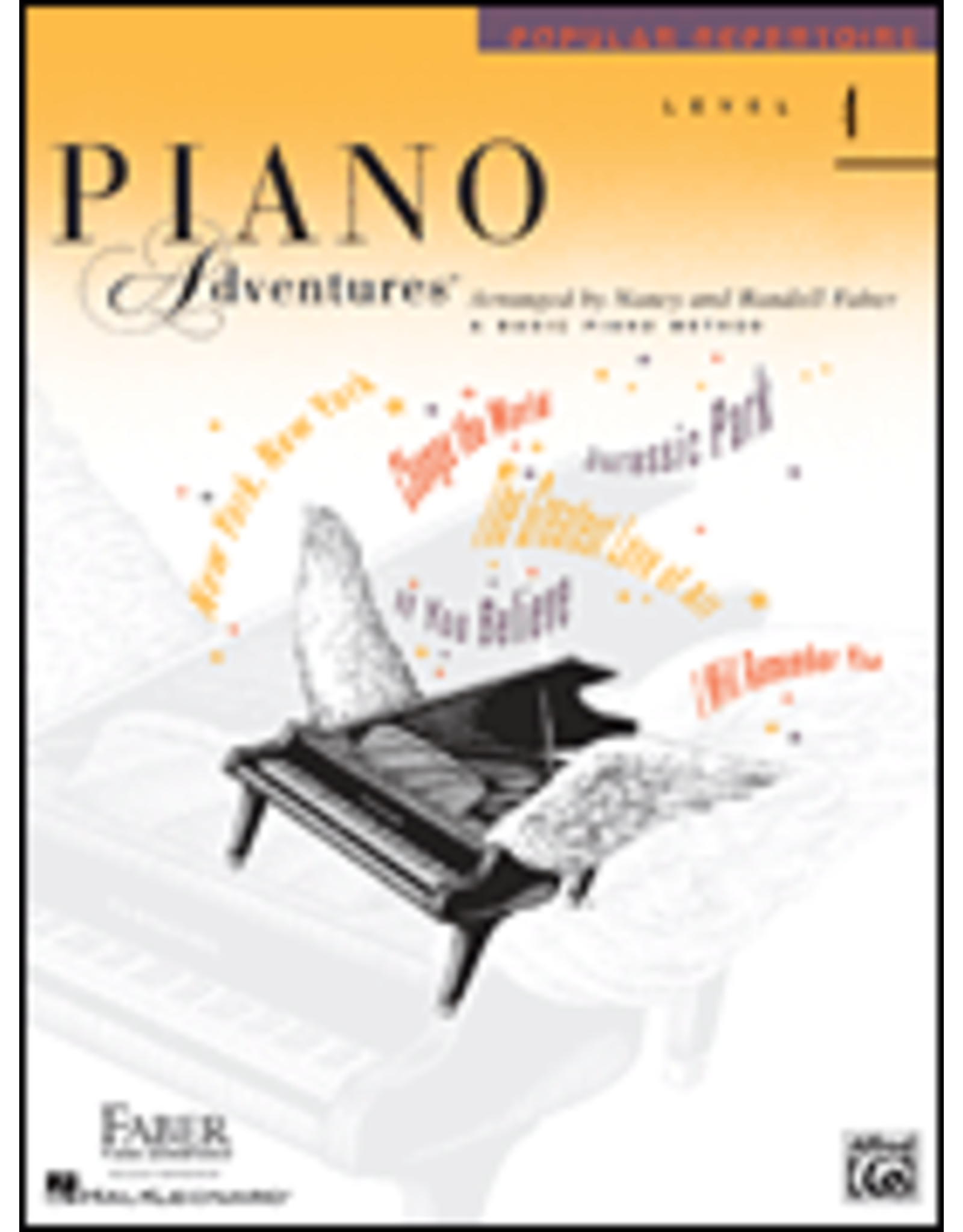 Hal Leonard Piano Adventures Popular Repertoire Level 4