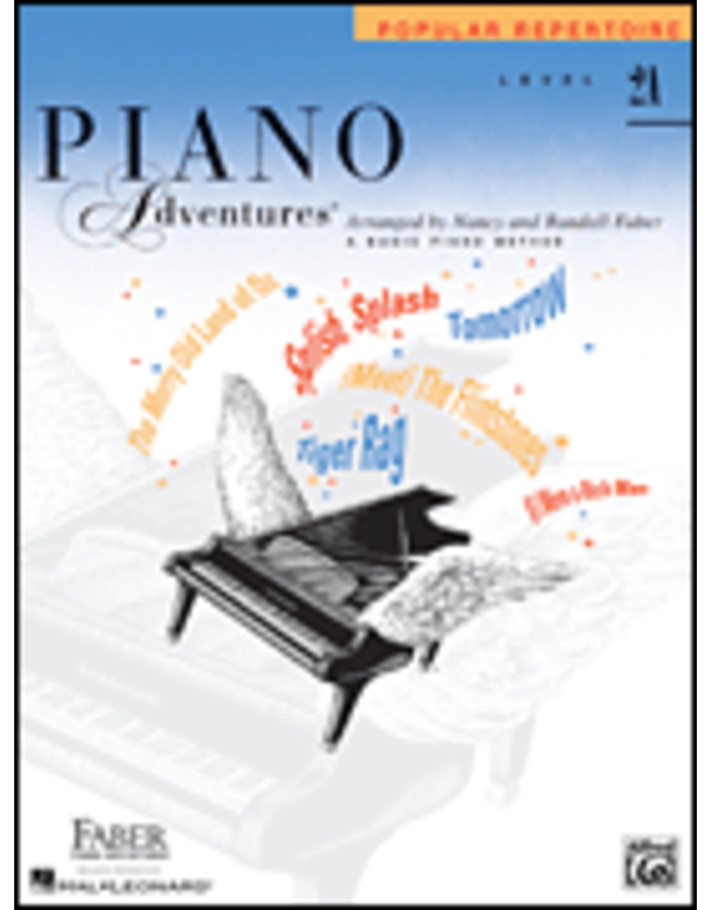 Hal Leonard Piano Adventures Popular Repertoire, Level 2A