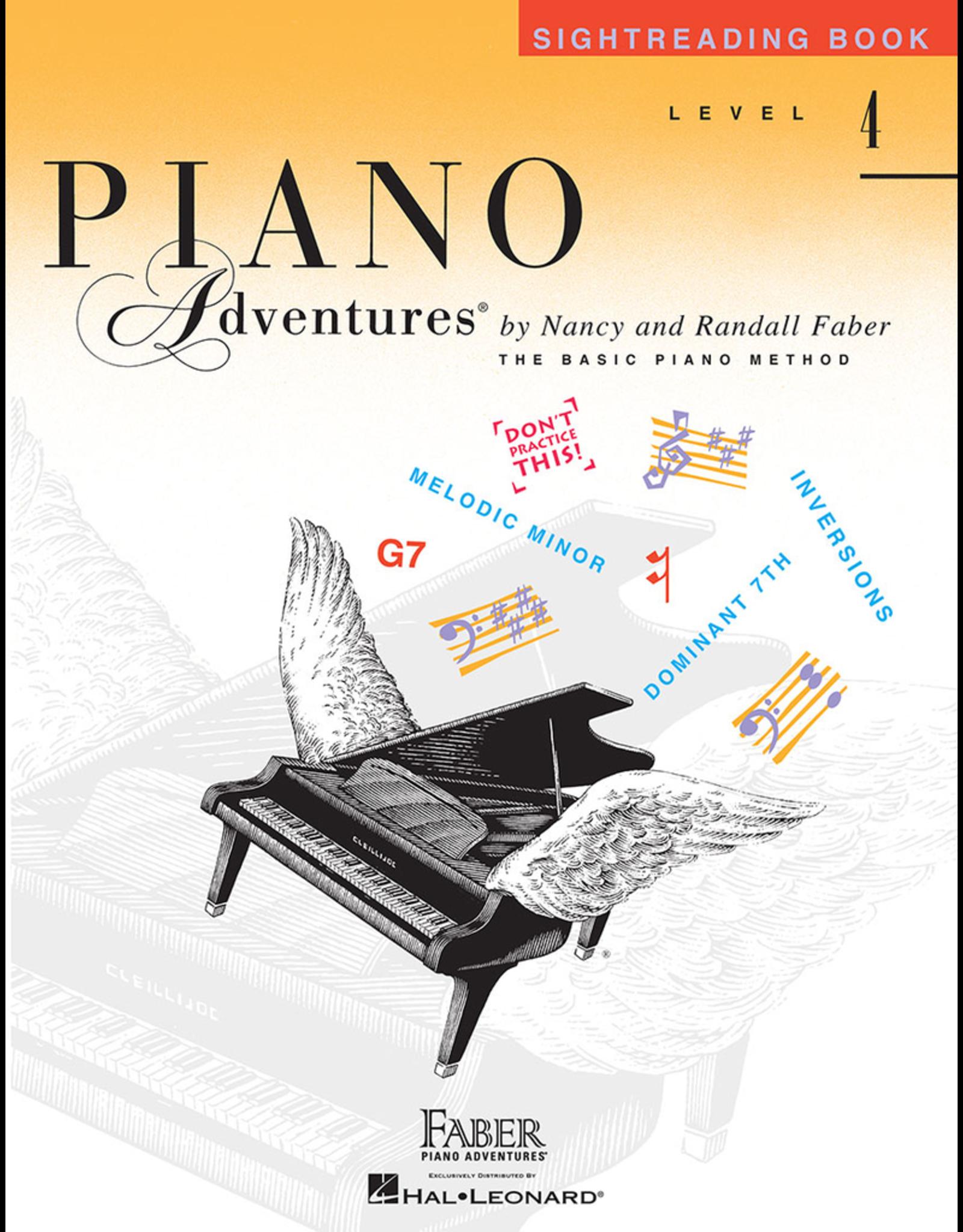 Hal Leonard Piano Adventures Sightreading Level 4