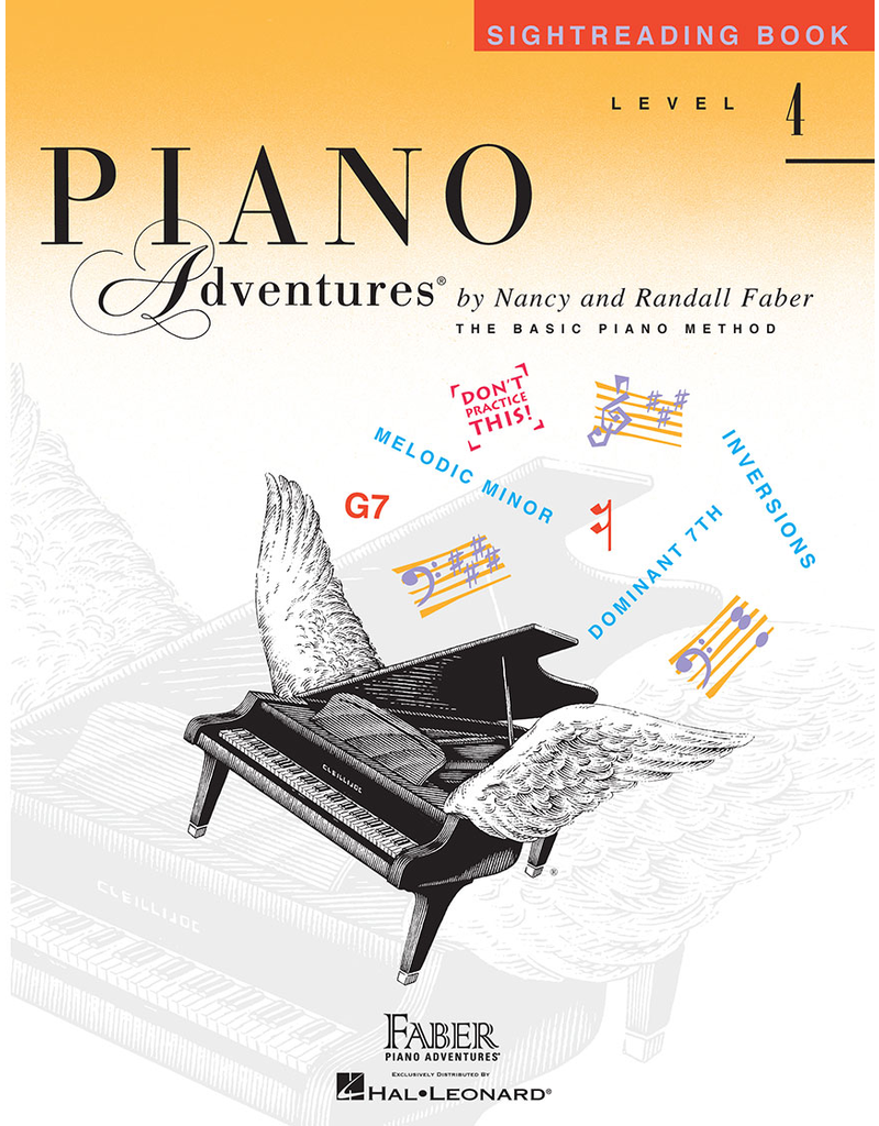 Hal Leonard Piano Adventures Sightreading Level 4