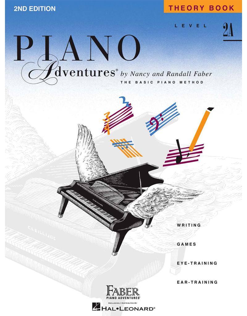 Hal Leonard Piano Adventures Theory Level 2A