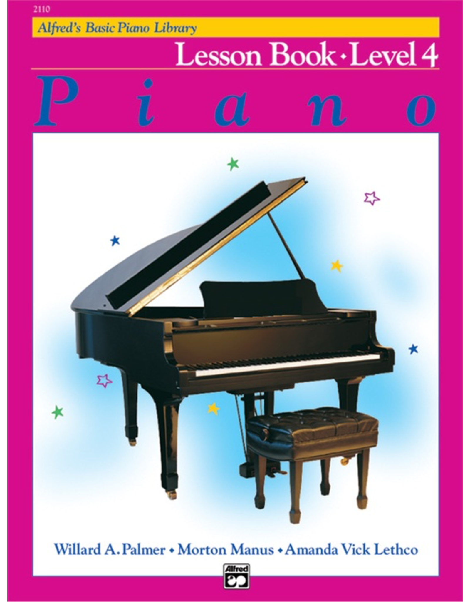 Alfred Alfred's Basic Piano Library, Lesson Book Level 4
