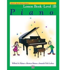 Alfred Alfred's Basic Piano Library, Lesson Book Level 1B
