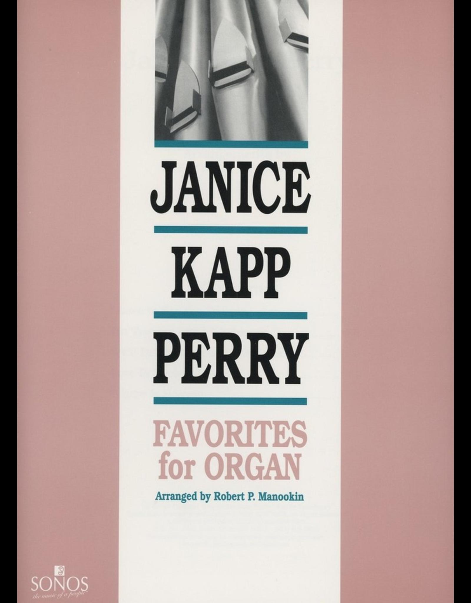 Jackman Music Janice Kapp Perry Favorites for Organ