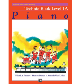 Alfred Alfred's Basic Piano Library Technic Book Level 1A<br />