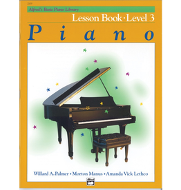 Alfred Alfred's Basic Piano Library, Lesson Book Level 3