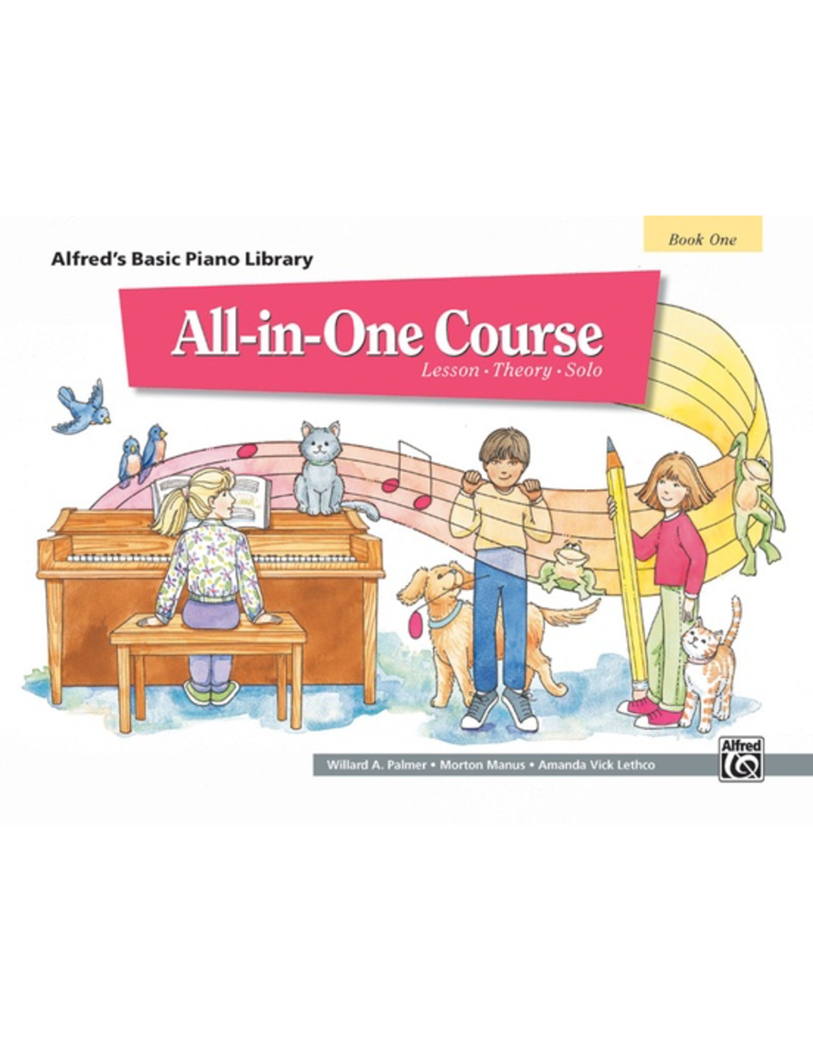 Alfred Alfred's Basic Piano Library All in One Course, Book 1