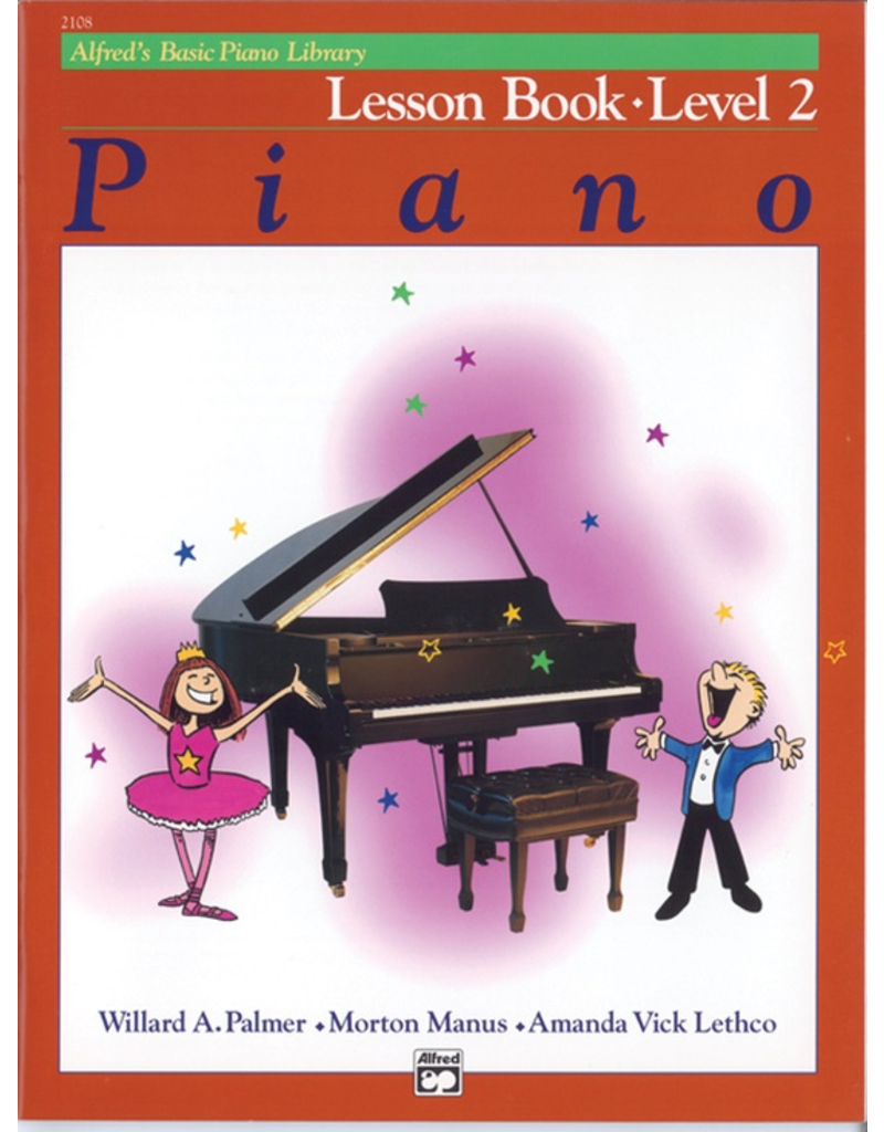 Alfred Alfred's Basic Piano Library, Lesson Book Level 2