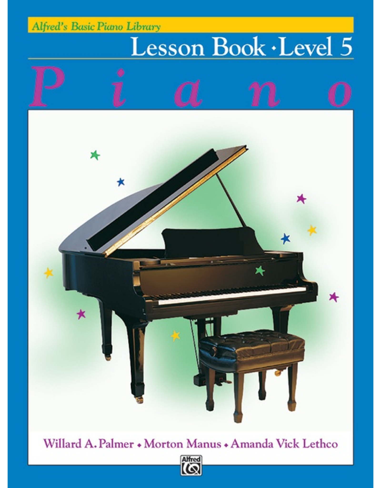 Alfred Alfred's Basic Piano Library Lesson Book Level 5