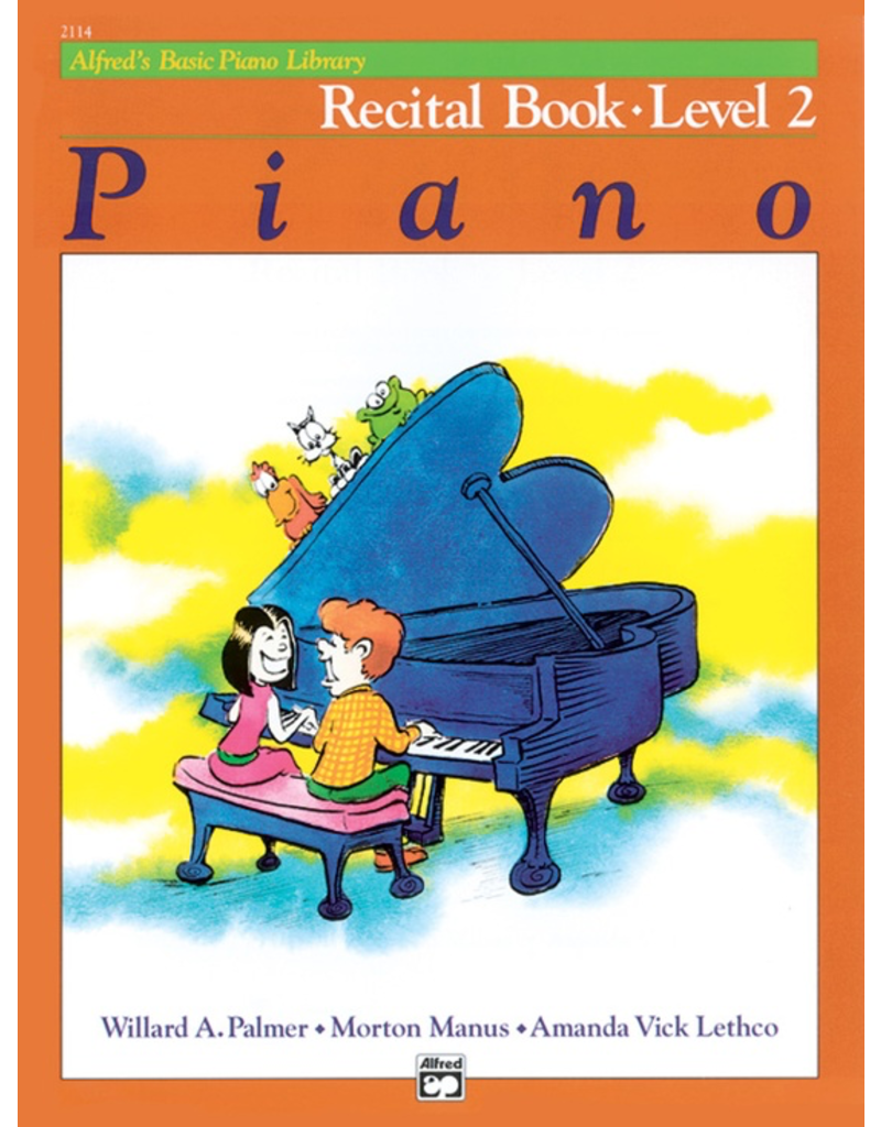 Alfred Alfred's Basic Piano Library, Recital Book Level 2