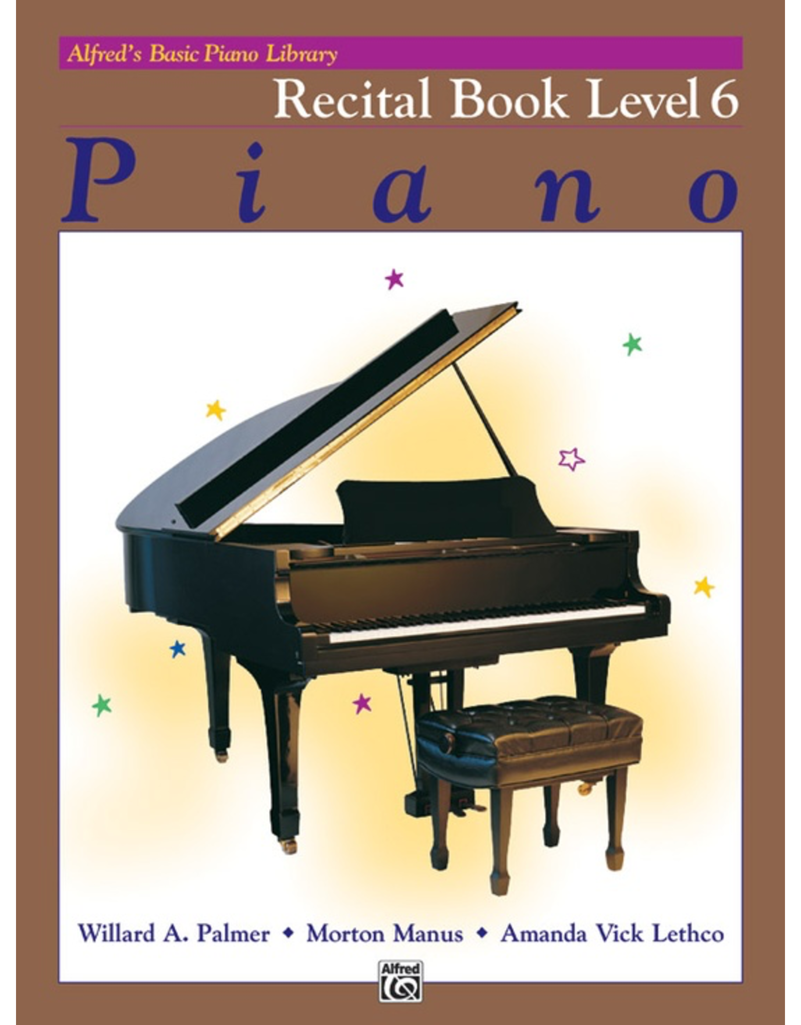 Alfred Alfred's Basic Piano Library Recital Book Level 6