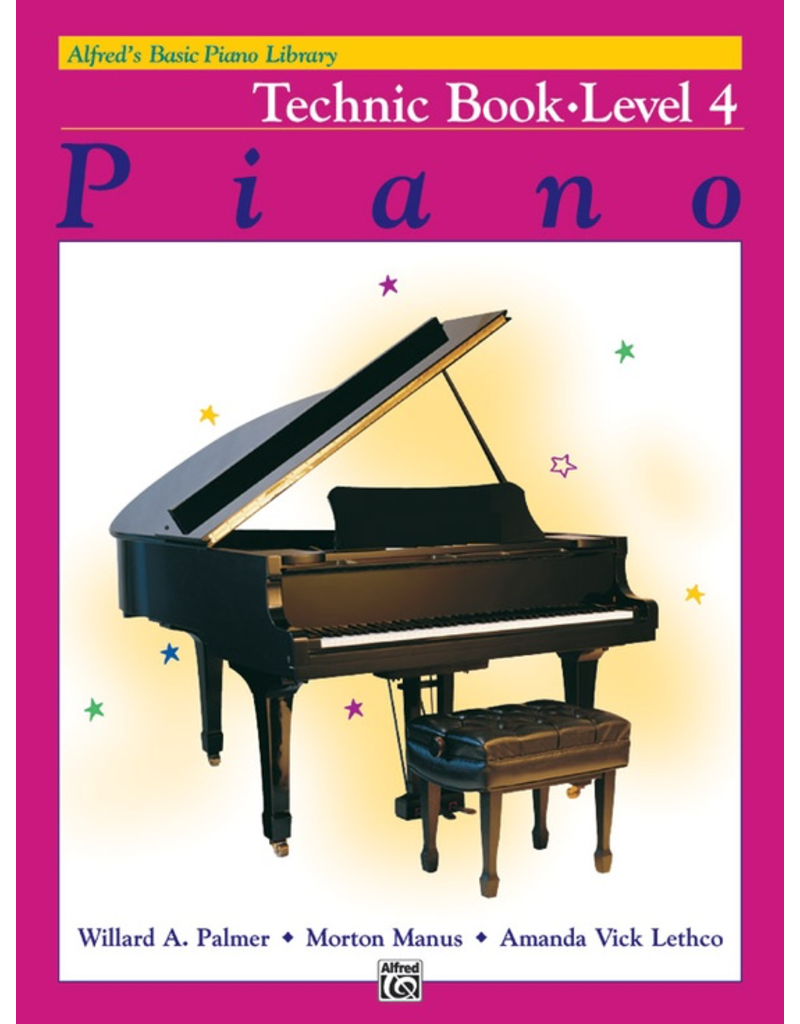 Alfred Alfred's Basic Piano Library Technic Book Level 4