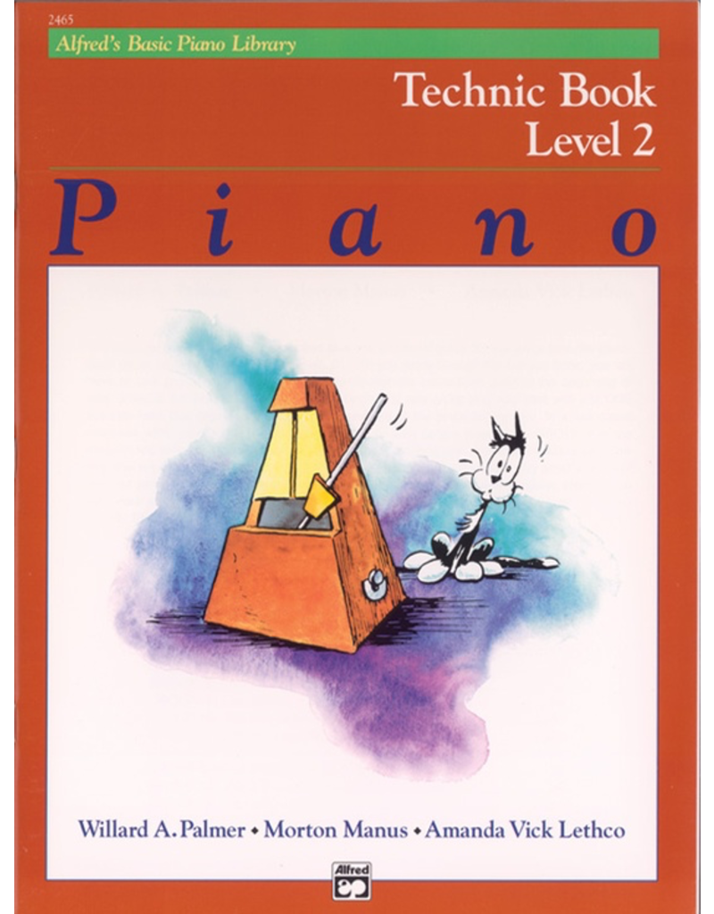 Alfred Alfred's Basic Piano Library, Technic Book Level 2