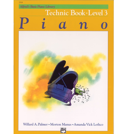 Alfred Alfred's Basic Piano Library Technic Book Level 3