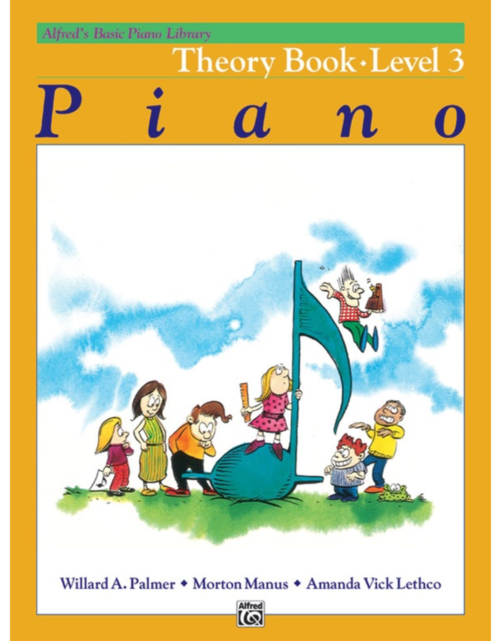 Alfred Alfred's Basic Piano Library Theory Book Level 3