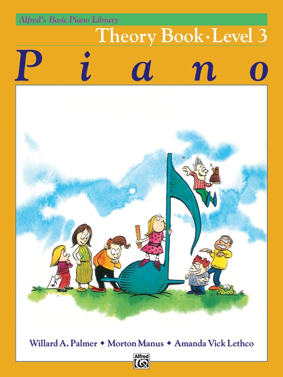 Alfred's Basic Piano Library Theory Book Level 3