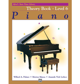 Alfred Alfred's Basic Piano Library Theory Book Level 6